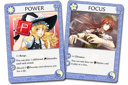 Power and Focus cards